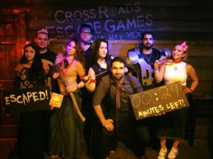 Team Building at Cross Roads Escape Games