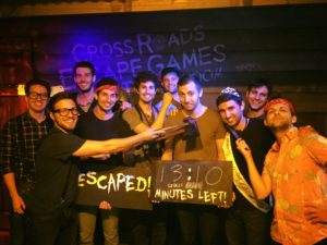 Batchelor party at Cross Roads Escape Games