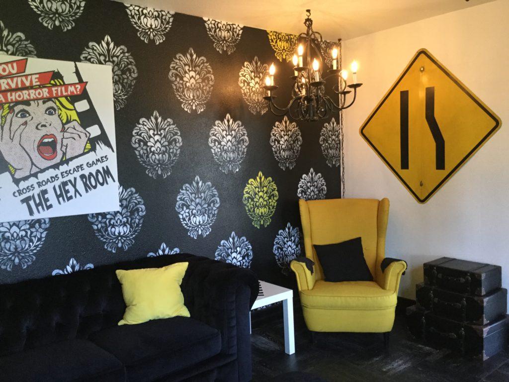 Cross Roads Escape Games Lounge