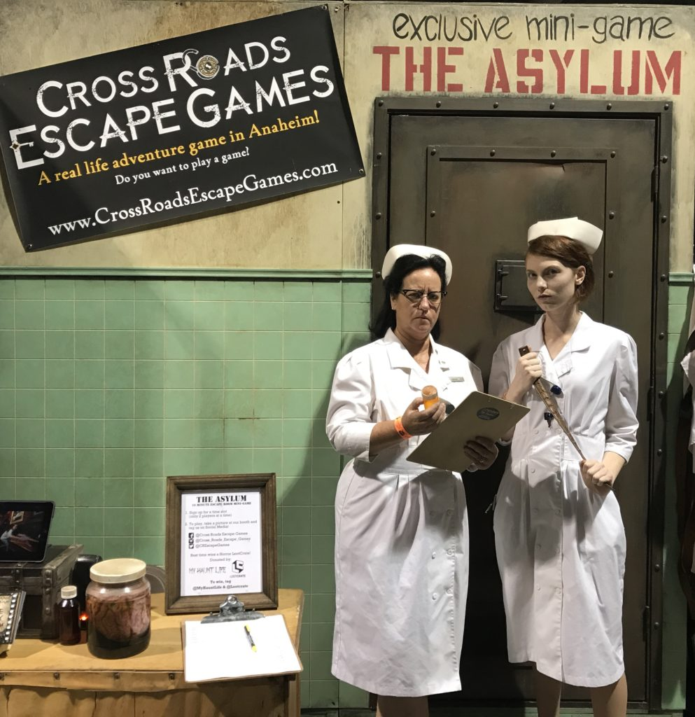 The Asylum mini-game by Cross Roads Escape Games