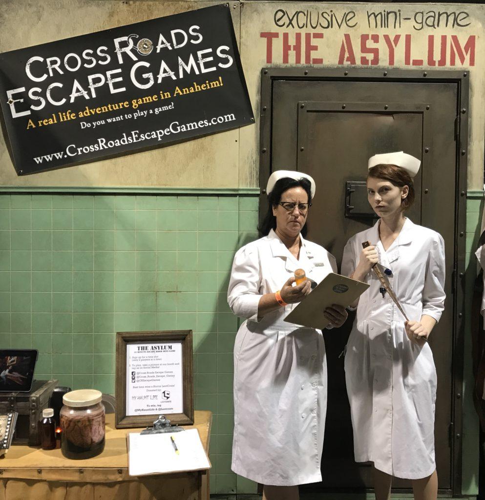 The Asylum mini-game by Cross Roads Escape Games