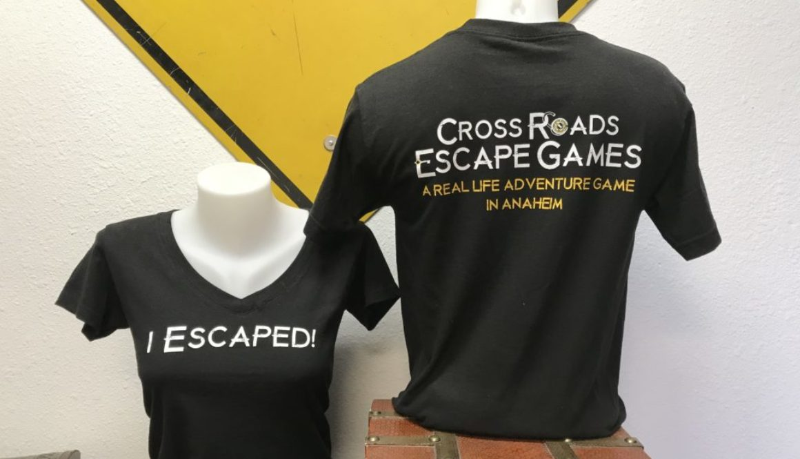 I Escaped! t-shirts