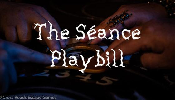 Seance Playbill