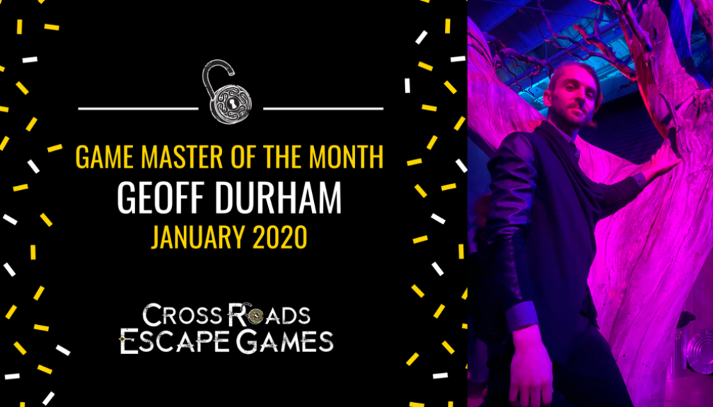 Game Master of the month Sara Strain December 2019