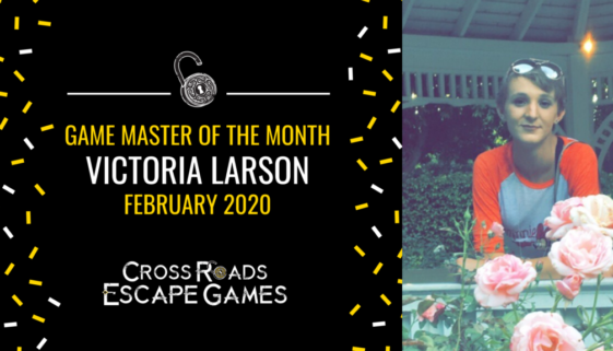 Game Master of the month Sara Strain December 2019-2